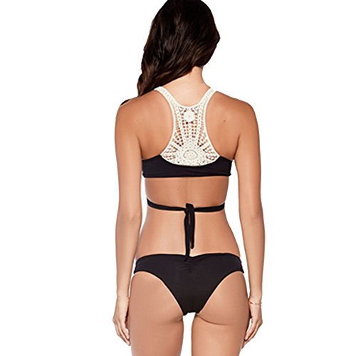 Blooming Jelly Women's Crochet Bikini Swimsuit Beach Swimsuit