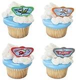 24 Disney's Planes Cupcake Rings by DecoPac