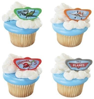24 Disney's Planes Cupcake Rings by DecoPac - 1