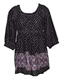New Womens Kaftan Top Tunic. Available in Black or Red. Sizes 6 to 12. Sizes EU 34 to 40. Sizes 36
