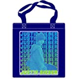 Justin Bieber -- Repeat Navy Tote Bag