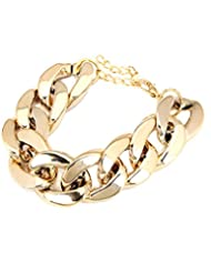 Young & Forever Gold Anchor Chain Bracelet For Women By CrazeeMania