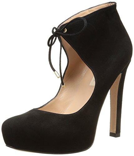 Pura Lopez  Ag405,  Scarpe stringate donna Nero Noir (Suede Negro) 38