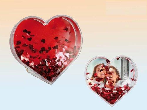 Stylish acrylic photo frame  heart - shaped