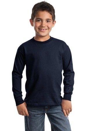 Port & Company Boys' Long Sleeve Essential T Shirt