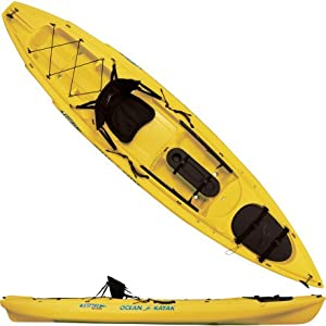 Ocean Kayak  Prowler Big Game Angler Classic Sit-On-Top Fishing Kayak (12-Feet 9-Inch, Yellow)