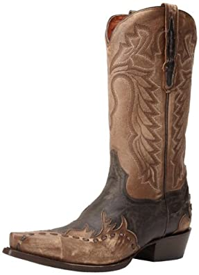 Dan Post Men's Lucky Break Western Boot,Tan Rustic,8 D US