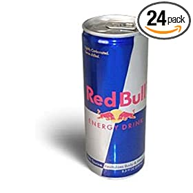Red Bull Energy Drink, 8.3 Ounce Can (Pack of 24)