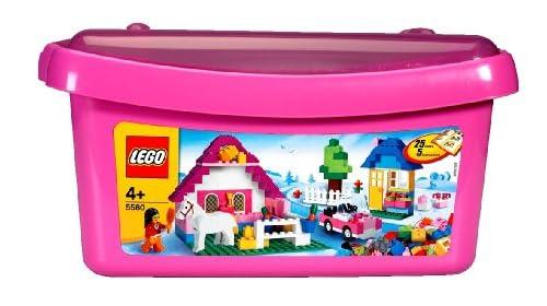 レゴ 基本セット ピンクのコンテナデラックス 5560