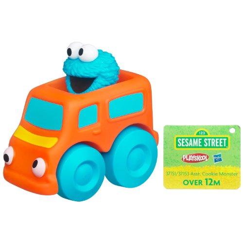 Playskool Sesame Street Wheel Pals - Cookie Monster - 1
