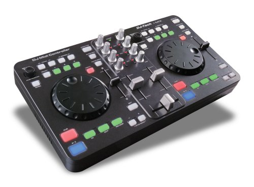 oswegoe best price dj tech imix usb midi dj controller with traktor le and mix. Black Bedroom Furniture Sets. Home Design Ideas