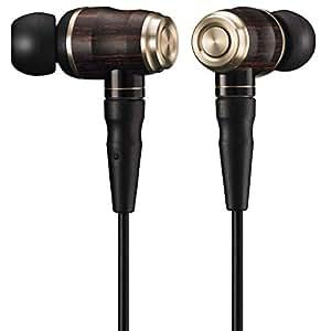 JVC HA-FX850 WOODシリーズ カナル型イヤホン リケーブル/ハイレゾ音源対応 ブラック