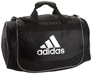 adidas Defender Small Duffel,Black/Silver,Small
