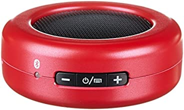 AmazonBasics Ultra-Portable Micro Bluetooth Speaker - Red