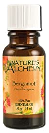 NATURES ALCHEMY Pure Essential Oil Bergamot 0.5 OZ