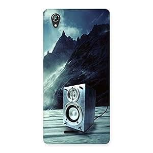 Impressive Speaker Of Snow Back Case Cover for Lava Iris 800