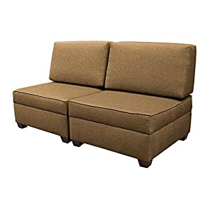 duobed convertible chairs to sofa bed mocha