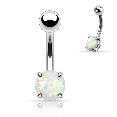 white-opal-glitter-prong-set-316l-surgical-steel-belly-button-ring-sold-individually