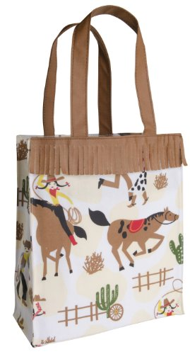 Now Designs Laminated Tote, Rootin Tootin