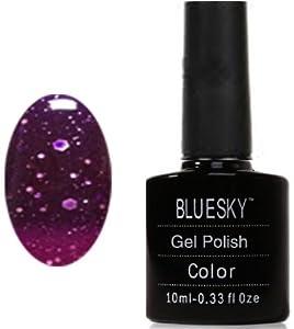 Bluesky Gel Polish UV Gel Soak off Nail Polish, Chameleon Violush 10 ml