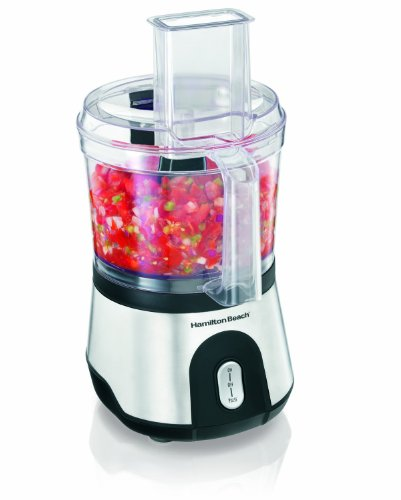 Hamilton Beach 70760 10 Cup Food Processor with Compact Storage