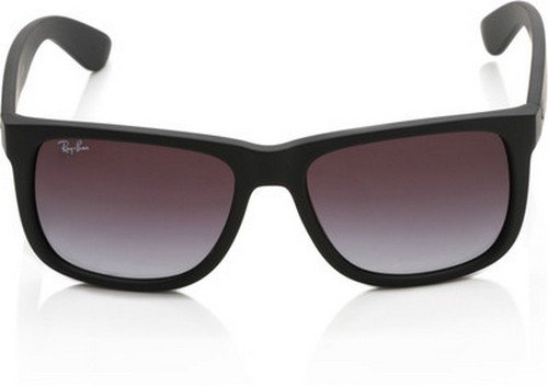 Ray-Ban Justin Occhiali da Sole Unisex, Nero (Black Gradient 601/8G), 54 mm