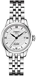 Tissot Le Locle Double Happiness Lady Automatic Grey Dial Stainless Steel Laides Watch T41.1.183.35