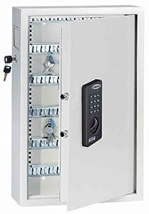 Rottner Schlüsseltresor Keytronic 100 mit schloss und seitlichem Einwurffach T04486  BaumarktKundenberichte und weitere Informationen