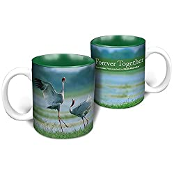 Hot Muggs Wild Focus Forever Together Ceramic Mug, 350ml