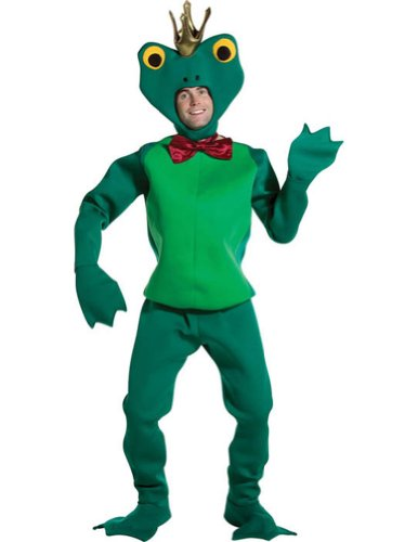 Frog Prince Adult Mascot Costume