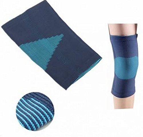 Size:S, Adjustable Neoprene Blue Knee Brace Support Pad Strap Guard Protector Sports by GokuStore (Fishing Rod Thread D compare prices)