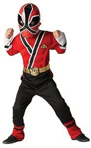 Rubie's Ranger Rojo vestido de lujo músculo del pecho de lujo (Mediano)