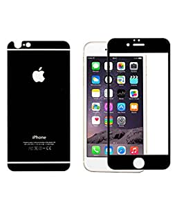 Royal Touch (TM) APPLE IPHONE 7 BLACK TEMPERED GLASS SCREEN PROTECTOR/BUBBLE FREE APPLICATION/HOLE FOR FRONT PROXIMITY SENSOR/NO HANGING PROBLEM/HIGH QUALITY JAPANES AGC GLASS MATERIAL