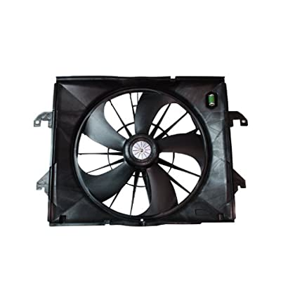 TYC Dual Radiator and Condenser Fan Assembly for 2007-2013 Chevrolet tb