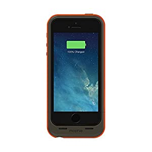 mophie 2100mAh Juice Pack Plus Outdoor Edition for iPhone 5/5S/SE - Gray/Orange