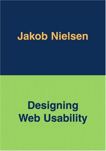 Designing Web Usability : The Practice of Simplicity, JAKOB NIELSEN