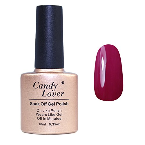 Candy-Lover-Brand-10ml-Nail-Paint-Uv-Gel-Soak-Off-Wine-Red-Nail-Polish