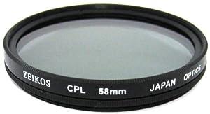 Zeikos ZE-CPL58 58mm Multi-Coated Circular Polarizer Filter