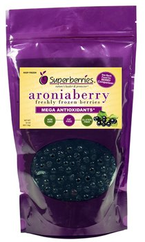 Fresh-frozen Aroniaberries (Chokeberry), 32 Oz. Package (Wellness Care Package compare prices)