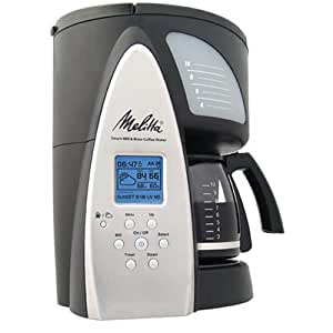 Melitta ME1MSB Smart Mill & Brew 10-Cup Programmable Coffeemaker
