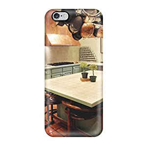SAoMAmh11242kVIPz Faddish Green Kitchen Cabinets With Terra Cotta Floor Tile And Copper Range Hood Case Cover For Iphone 6 Plus