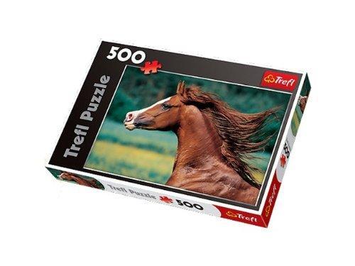 Trefl Gobelin Arabian Horse 500-Piece Puzzle - 1