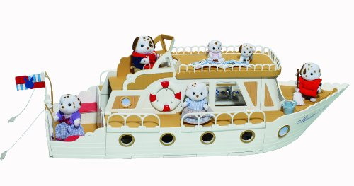 Sylvanian Families Pleasure Boat Playset (Figures Not Included)
