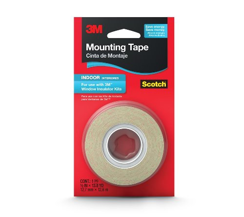 3M Indoor Insulator Film Mounting Tape, .5-Inch by 13.8-Yard