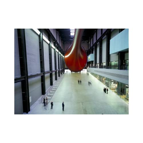 Tate Modern, the Turbine Hall with Anish Kapoor Sculpture