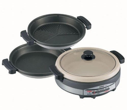 Ep-Rs55-Xj Stainless Pot Brown Earthenware Plate Three Full Wind Ji Ah Should A Grill Zojirushi