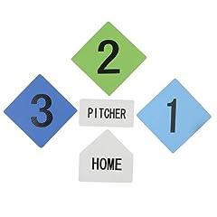 Buy Stats Foam Baseball Base Set by Toys R Us