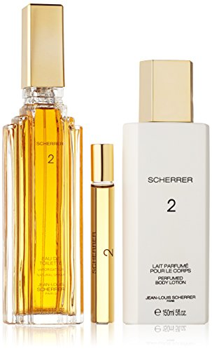 Jean Louis Scherrer 2 Set (Eau De Toilette 100 Ml Spray + 10 Ml Roll On +Body Lotion 150 ml)