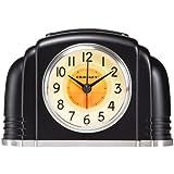 Crosley 33388 Bakelite Arch Silent Sweep Alarm Clock w/ Smartlite Technology