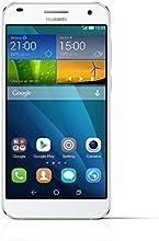 "Huawei G7 - Smartphone libre Android 4.4+ Emotion UI 3.0 (pantalla 5.5"", cámara 13 Mp, 16 GB, Quad-Core 1.2 GHz, 2 GB RAM), blanco"